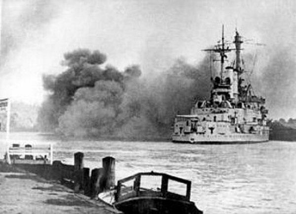 Polska artyleria nabrzeżna nie była w stanie obronić nawet podejścia do Gdyni.