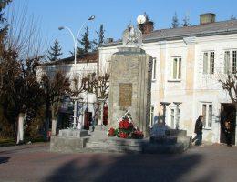 Sporny pomnik w Birczy (fot. Palkin, lic. CCA SA 2.0)
