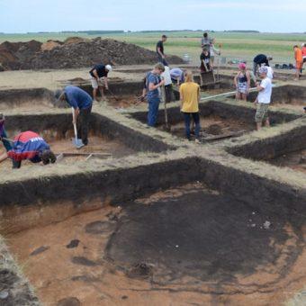 Wykopaliska na Uralu w 2018 roku [fot. Ural Project, Goethe University]
