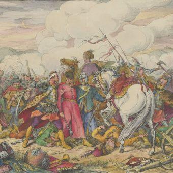 Jedną z największych porażek Husarii była bitwa pod Cecorą, gdzie górą były wojska turecko-tatarskie.