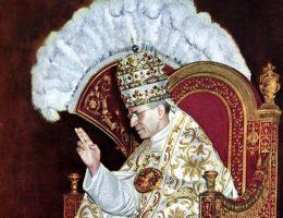 Pius XII wstąpił na tron Piotrowy w 1939 roku.