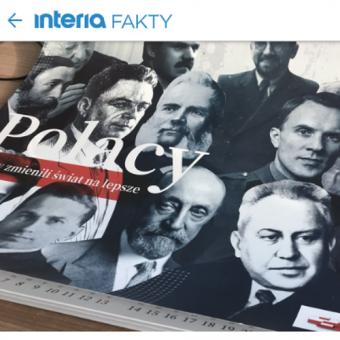 O kontrowersyjnym kalendarzu poinformowały m.in. portale RMF24.pl oraz Interia.