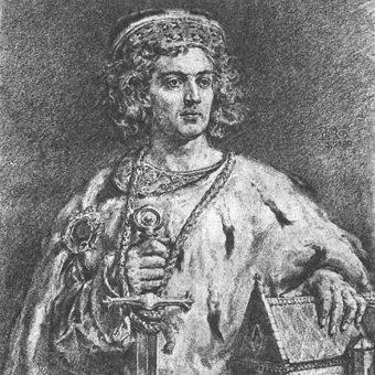 Bolesław IV Kędzierzawy według Matejki.