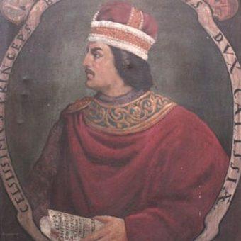 Portret Bolesława Pobożnego.