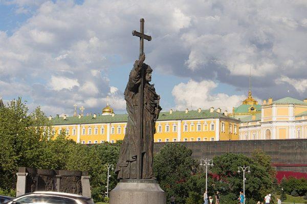 Pomnik w Moskwie odsłonięto w 2016 roku.