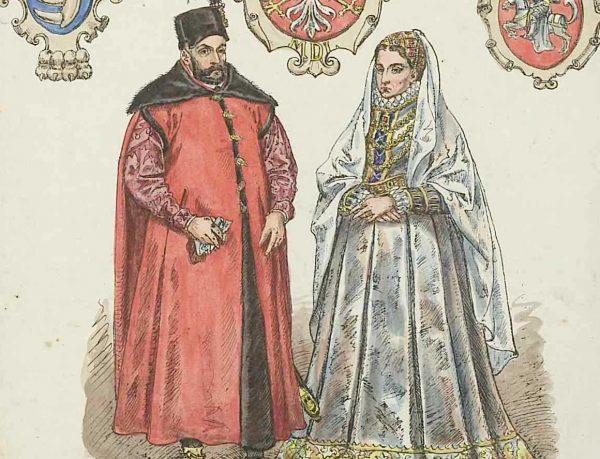 Anna Jagiellonka i Stefan Batory.