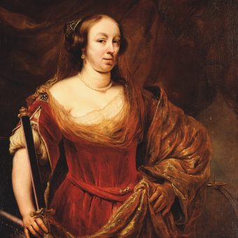 Portret Ludwiki Marii.