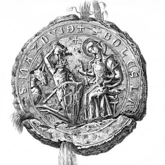 Pieczęć Bolesława II Mazowieckiego.