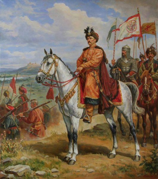 Pod Berestecki Chmielnicki sprowadził armię liczącą być możne nawet 100 000 ludzi.