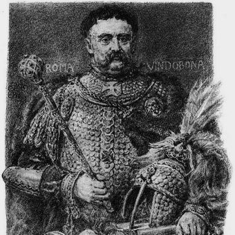 Jan III Sobieski na ilustracji Jana Matejki (fot. domena publiczna)