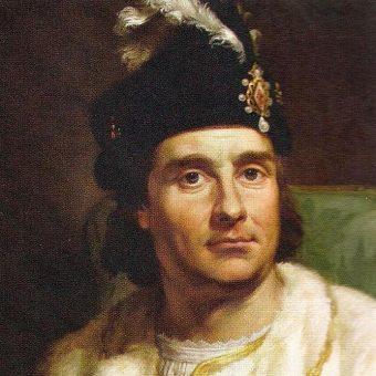 Portret Jana Olbrachta.