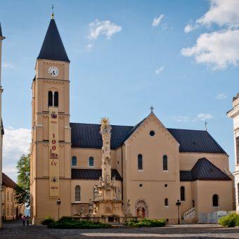 Katedra w Veszprém, miejsce spoczynku Mieszka joannity (fot. fm2 - Indafotó, lic. CC BY-SA 2.5 hu)