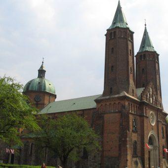 Katedra w Płocku, gdzie Henryk był biskupem.