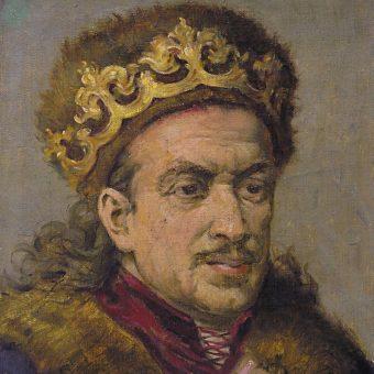 Portret Kazimierza Jagiellończyka.