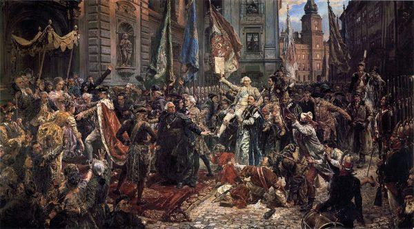 Uchwalenie Konstytucji 3 Maja.