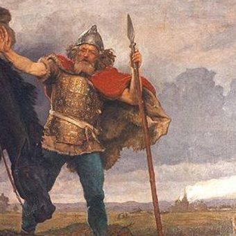 Mężczyzna z czasów Dytryka, ilustracja poglądowa (fot. domena publiczna)