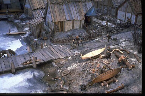Makieta osady Birka (fot. Bengt A Lundberg, Riksantikvarieämbete, lic. CC BY 2.5)