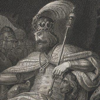 XIX-wieczne wyobrażenie Mieszka II.