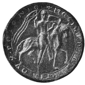 Pieczęć majestatyczna męża Eudoksji, Mieszka III Starego.