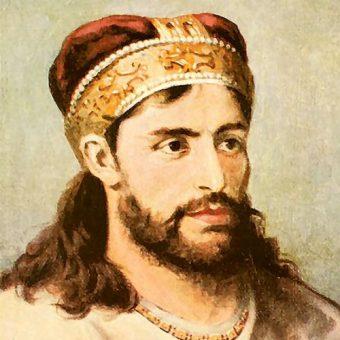 Portret Kazimierza II Sprawiedliwego.