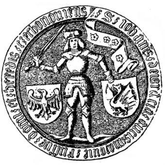 Pieczęć Janusza II (fot. domena publiczna)