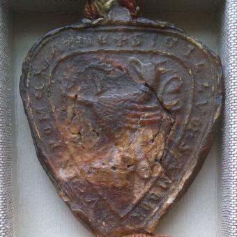 Pieczęć Sambora II (fot. Archiwum Państwowe w Poznaniu, lic. CC BY 3.0)