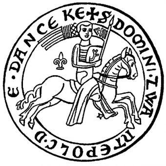 Pieczęć konna Świętopełka (fot. domena publiczna)
