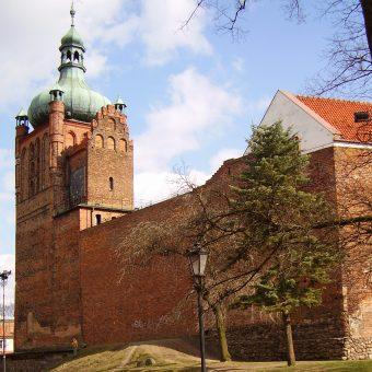 Zamek książąt mazowieckich w Płocku.