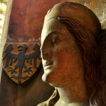Popiersie gotyckie Elżbiety pomorskiej (fot. Packare, lic. CC0)