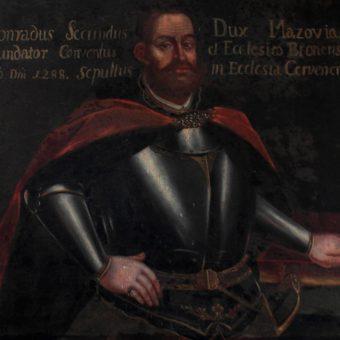 Portet Konrada II z połowy XVII wieku w Kościele Świętej Trójcy w Błoniu (fot. domena publiczna)