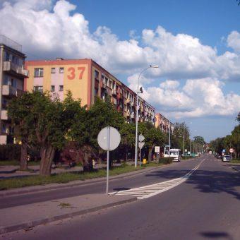 Przez większą część roku Hajnówka to spokojne miasto (fot. Stormbringer76, lic. GNU FDL)