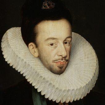 Portret Henryka Walezego.