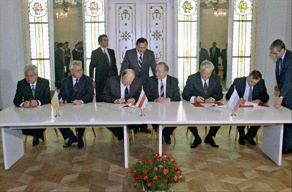 Do dzisiaj nie wszyscy pogodzili się z rozpadem ZSRR, który oznaczał również utratę Ukrainy i Białorusi.