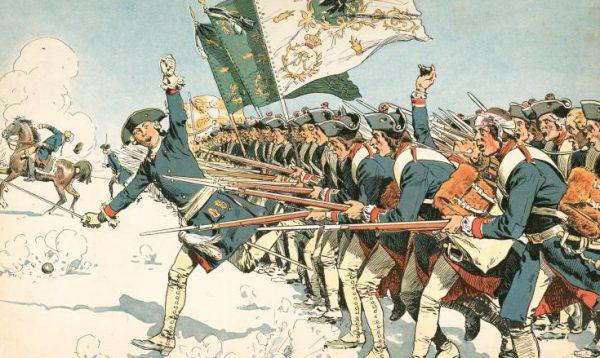 Fryderyk II przyłączył Śląsk do Prus w wyniku wojen śląskich.