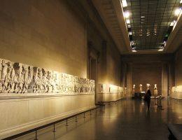 Wywiezione z Partenonu marmury w British Museum (fot. Andrew Dunn, lic. CC BY-SA 2.0)
