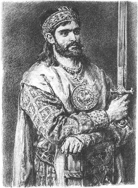 Kazimierz Sprawiedliwy według Matejki.