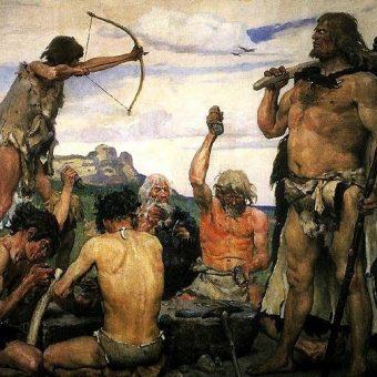 Dieta mieszkańców Pomorza kilka tysięcy lat temu była bardziej urozmaicona, niż przypuszczano (ilustracja poglądowa).