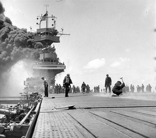 Praca kryptologów pozwoliła Amerykanom przygotować się do ataku japońskiego na Midway.