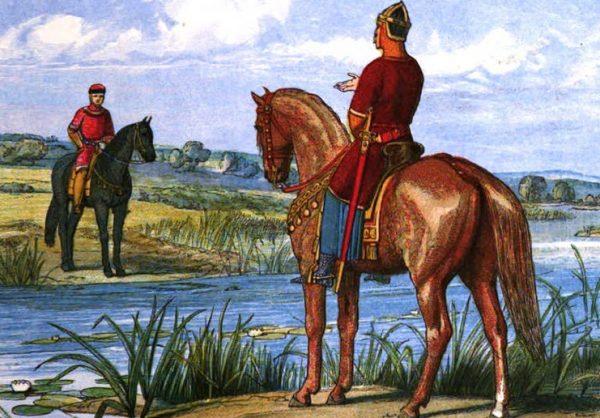 Henryk II i Stefan z Blois ustalają kwestię sukcesji angielskiego tronu.