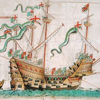 Na pokładzie Mary Rose pływali marynarze z Afryki Północnej lub Bliskiego Wschodu.