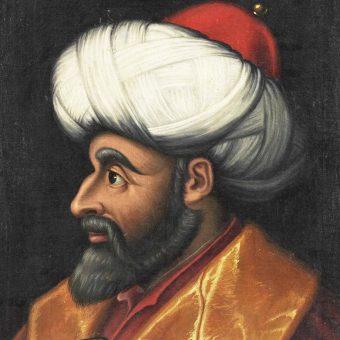 Portret Bajezida II Świętego.
