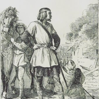 Chlotar II (fot. domena publiczna)