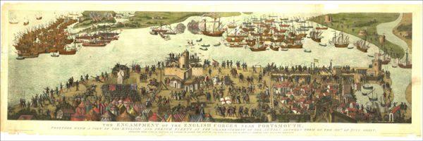 Mary Rose, ulubiony okręt wojenny Henryka VIII, zatonęła w 1545 roku podczas bitwy w cieśninie Solent.