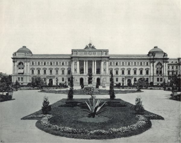 Ukraińcy mierzyli do Polaków między innymi z gmachu Sejmu Krajowego.
