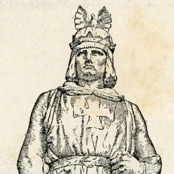 Fryderyk II Hohenstauf (fot. domena publiczna)
