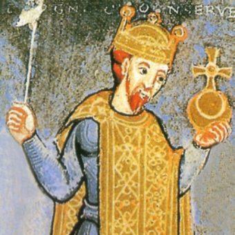 Miniatura z wizerunkiem Henryka III.