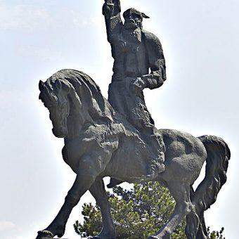 Pomnik Asparucha w Dobriczu.