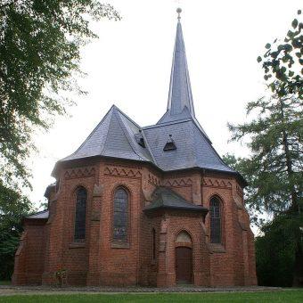 Kościół pamięci Warcisława I w Stolpe an der Peene (fot. Erell , lic. CC BY-SA 3.0)