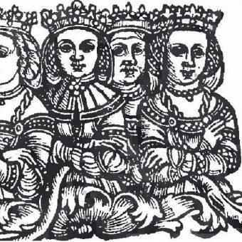 Królowa Sonka pierwsza z prawej.