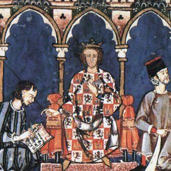 Alfons X i jego dwór.